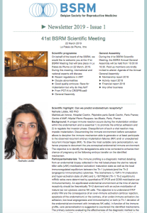 BSRMNewsletter2019-Issue1